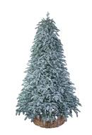 Triumph Tree Ель Нормандия пушистая 100% литая, 230 см, заснеженная