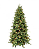Triumph Tree Ель Королевская Стройная 256 ламп, 215 см, зеленая