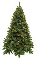 Triumph Tree Ель Де Люкс 328 ламп, 230 см, зеленая