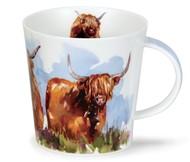 Dunoon Кружка Высокогорные быки.Кернгорм (480 мл), 12.6 см
