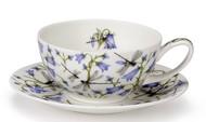 Dunoon Чашка чайная с блюдцем Колокольчики (250 мл)