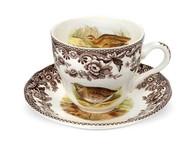 Spode Чашка чайная с блюдцем Английские охотничьи мотивы (200 мл)