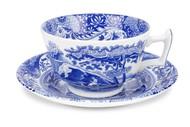 Spode Чашка чайная с блюдцем Голубая Италия (200 мл)