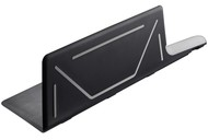 Gefu Доска разделочная складная Лавос, 47х26 см, черная