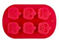 Walmer Форма для выпечки кексов Pumpkin на 6 ячеек, 27х17 см