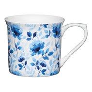 Kitchen Craft Кружка Blue rose (300 мл), 8.6х11.5 см