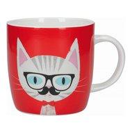 Kitchen Craft Кружка Cat specs (425 мл), 9х8.9 см