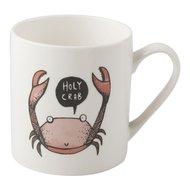 Kitchen Craft Кружка Crab (300 мл), 8.2х9 см