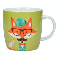 Kitchen Craft Кружка Fox specs (425 мл), 9х8.9 см