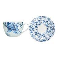 Kitchen Craft Чашка чайная с блюдцем (200 мл)