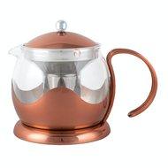 Kitchen Craft Чайник заварочный на 2 чашки La Cafetiere (660 мл), медный