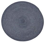 Harman Салфетка подстановочная круглая Урбан, 38 см, синяя