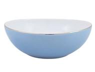 Porcel Салатник Silver Rain (430 мл), 15х6 см, голубой