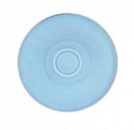 Porcel Блюдце Silver Rain, 17 см, голубое