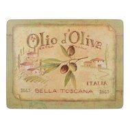 Creative Tops Салфетка подстановочная Olio D Oliva, 23x30 см, 6 шт
