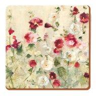 Creative Tops Подставка пробковая Wild Field Poppies, 10х10 см, 6 шт