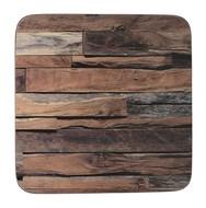 Creative Tops Подставка пробковая Wood Cabin, 10х10 см, 6 шт