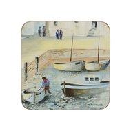 Creative Tops Подставка пробковая Cornish Harbour, 10х10 см, 6 шт
