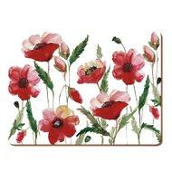Creative Tops Салфетка подстановочная Watercolour Poppy, 40х29 см, 4 шт