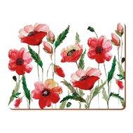 Creative Tops Салфетка подстановочная Watercolour Poppy, 30х23 см, 6 шт