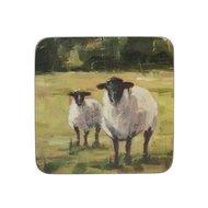 Creative Tops Подставка пробковая Sheep, 10х10 см, 6 шт