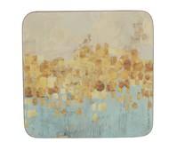 Creative Tops Подставка пробковая Gold Reflect, 10х10 см, 6 шт