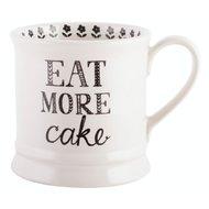 Creative Tops Кружка Eat more cake Stir it up (280 мл), 8.5х12 см
