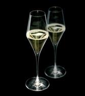 Stolzle Бокал для шампанского HighLight (292 мл), с подсветкой, 8.3х26 см
