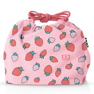 Monbento Мешочек для ланча Pochette strawberry, 20х19х7 см, розовый
