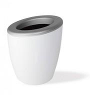 Wegg Ведро для охлаждения вина DEMI Mix, 17х20 см, серебристо-белое