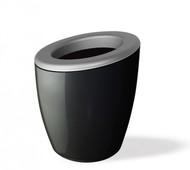 Wegg Ведро для охлаждения вина DEMI Mix, 17х20 см, серебристо-черное