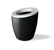 Wegg Ведро для охлаждения вина DEMI Mix, 17х20 см, белая жемчужина-черный