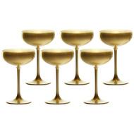 Stolzle Набор бокалов для шампанского Elements Gold (230 мл), 6 шт.
