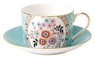 Wedgwood Чашка чайная с блюдцем Вандерласт Камелия (150 мл)