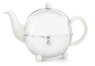 Bredemeijer Чайник заварочный с фильтром Cosy (1.3 л), белый