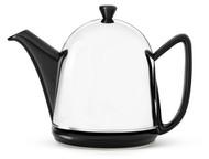 Bredemeijer Чайник заварочный c фильтром Manto (1 л), черный/стальной