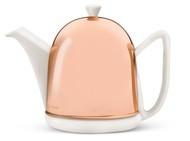 Bredemeijer Чайник заварочный c фильтром Manto (1 л), белый/медный