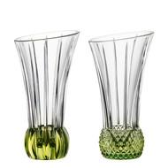 Nachtmann Набор ваз Spring с зеленым дном, 13.6 см, 2 шт.