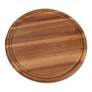 Bisetti Доска разделочная круглая Acacia, 25 см