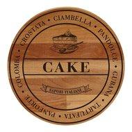 Bisetti Доска сервировочная круглая Cake, 30 см