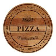 Bisetti Доска сервировочная круглая Pizza, 30 см