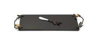 Michael Aram Доска для сыра с ножом Золотой гранат, 44х15 см