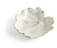Michael Aram Чаша-лист Зимние листья. Герань, 11 см