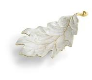 Michael Aram Чаша-лист Зимние листья. Красный дуб, 25 см