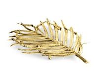 Michael Aram Чаша-лист Пальмовая ветвь, золотистая