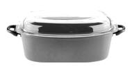 SKK Гусятница со стеклянной крышкой Titan Induction (8 л), 40х24 см