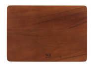 SKK Доска разделочная прямоугольная без ручки, 33х23х3.5 см, темное дерево