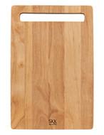 SKK Доска разделочная прямоугольная, 33х25.5х2 см, светлое дерево