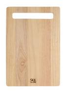 SKK Доска разделочная прямоугольная, 30.5х20.5х2 см, светлое дерево