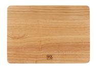 SKK Доска разделочная прямоугольная без ручки, 33х23х3.5 см, светлое дерево